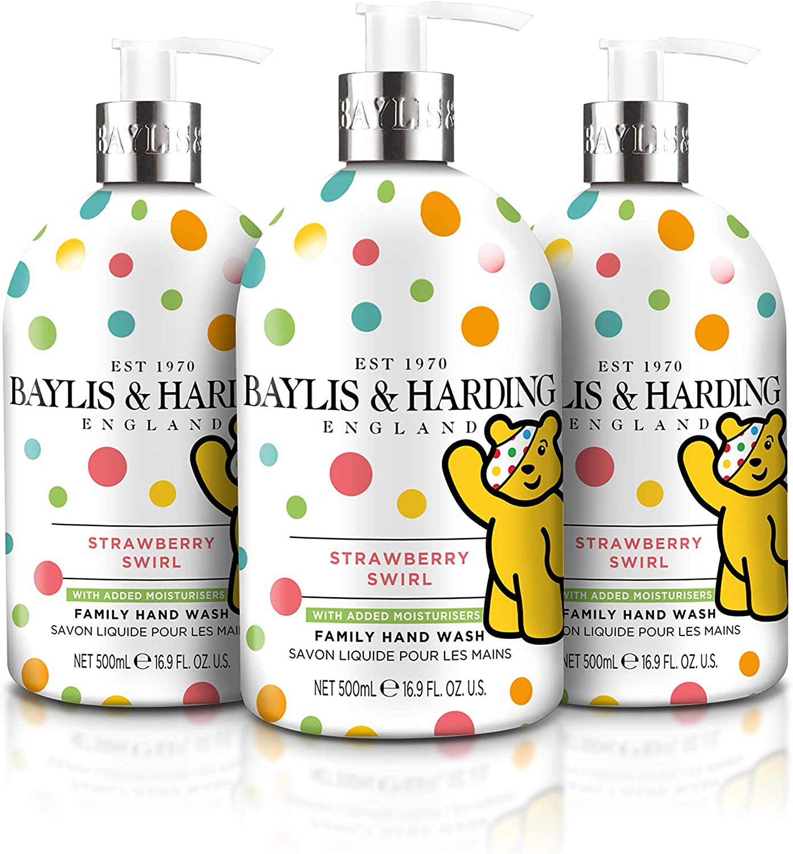 Baylis & Harding Children In Need Strawberry Swirl Limited Edition Hand Wash (Pack of 3) £5.96 @ Amazon
