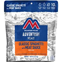 Mountain House Classic Spaghetti with Meat Sauce | Freeze Dried Backpacking & Camping Food |2 Servings