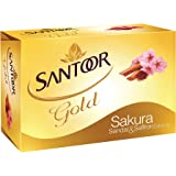 Santoor Gold Soap, 75g