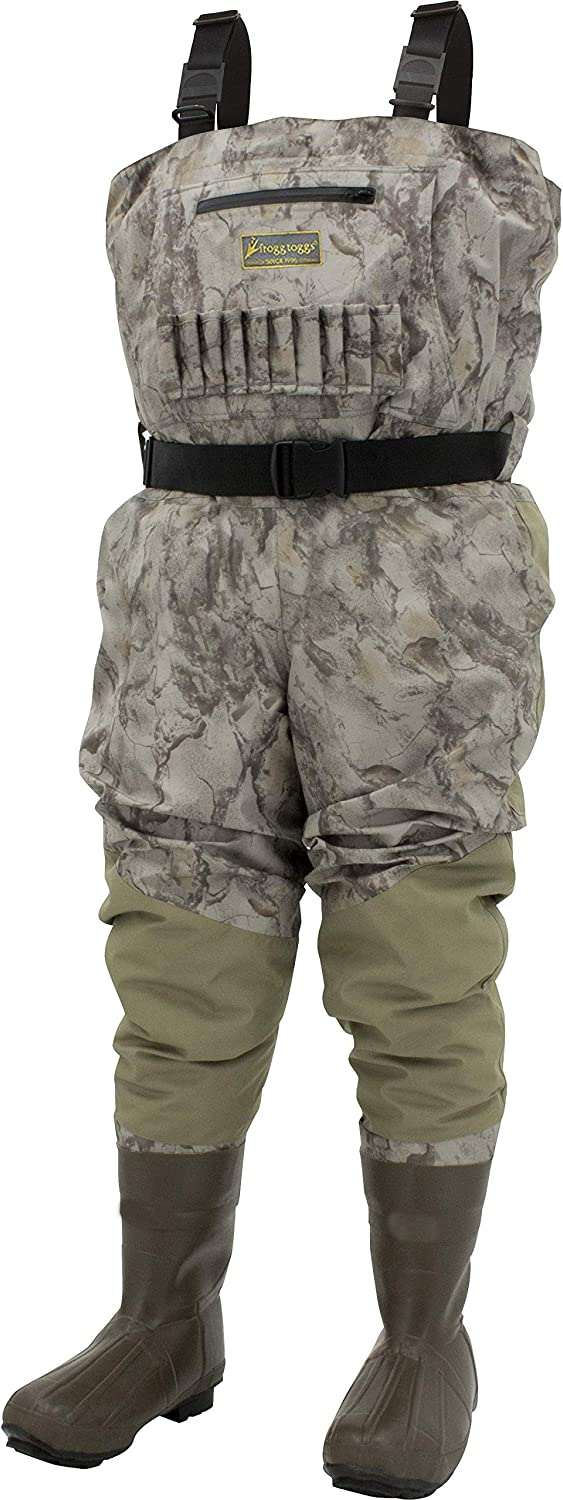 Frogg Toggs Grand Refuge 2.0 Breathable & Insulated Bootfoot Chest Wader, Cleated Outsole, Stout