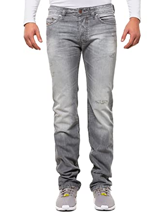 amazon com diesel mens jeans slim safado 0831f grey clothing