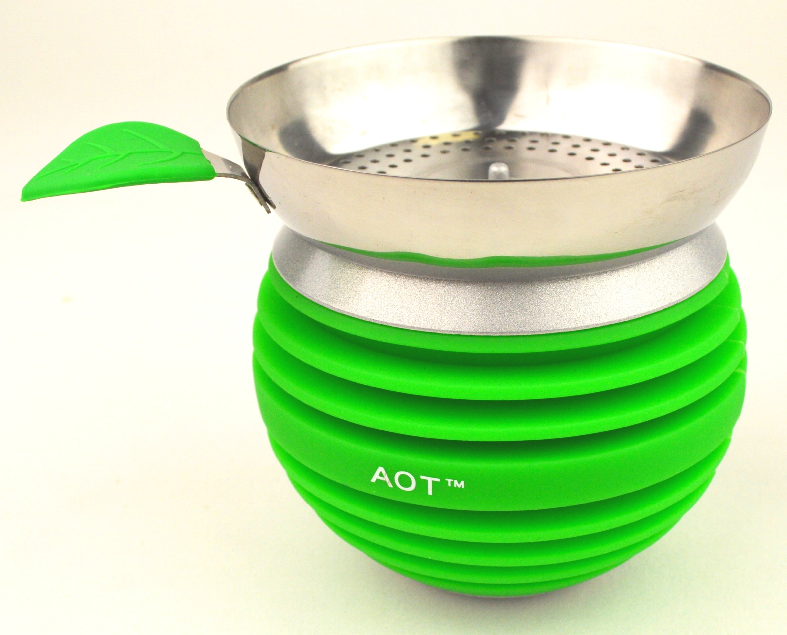 New Modern Apple On Top Hookah Bowl / Head (Green)