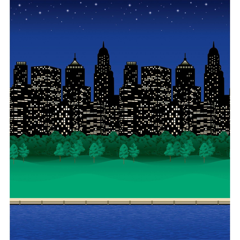 Pacon Fadeless Designs Bulletin Board Art Paper, 4-Feet by 50-Feet, City Lights (56945) by Pacon B005QVJ5SQ City Lights City Lights