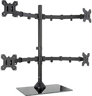 Amazon com: VIVO Quad Monitor Mount Fully Adjustable Desk