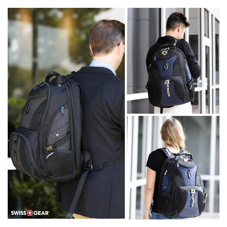 SwissGear Travel Gear 1900 Scansmart TSA Friendly Laptop Backpack 19 Blue