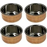 Indian Utensils Serving Bowls Tableware Dinnerware Set of 4