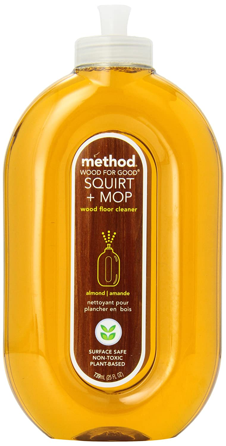 Amazon.com: Method Naturally Derived Squirt + Mop Wood Floor Cleaner,  Almond, 25 Ounce (Pack of 6): Kitchen & Dining - Amazon.com: Method Naturally Derived Squirt + Mop Wood Floor