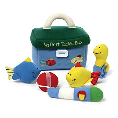 Baby GUND My First Tackle Box Stuffed Plush Playset, 5 pieces: Toy: Toys & Games