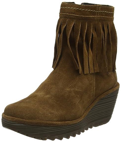 Fly London Yagi766fly, Botas De Vaquero para Mujer: Amazon.es: Zapatos y complementos