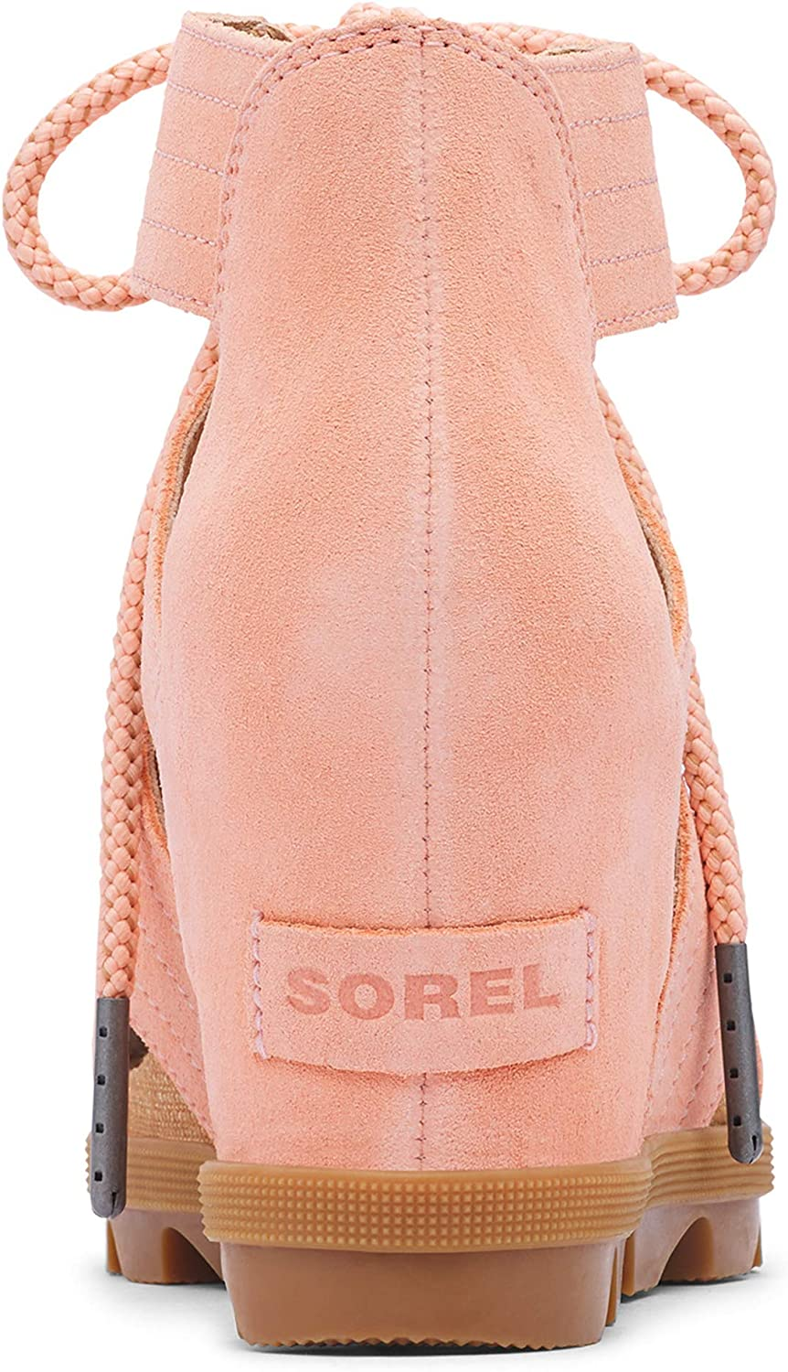 Sorel Women's Joanie II Lace Wedge Sandals Melón Tónico
