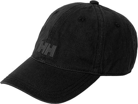 Oferta amazon: Helly Hansen Logo Cap Gorra Unisex 100% algodón para protegerse del Sol Durante Actividades al Aire Libre, Hombre