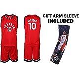 1f66d2a8b Fan Kitbag Toronto Raptors DeRozan Jersey Kids Basketball Red DeRozan Jersey    Shorts Youth Gift Set