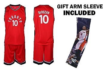 the latest b8668 24845 Fan Kitbag Toronto Raptors Lowry/LIN Kids Basketball Jersey & Shorts Youth  Gift Set Home/Away