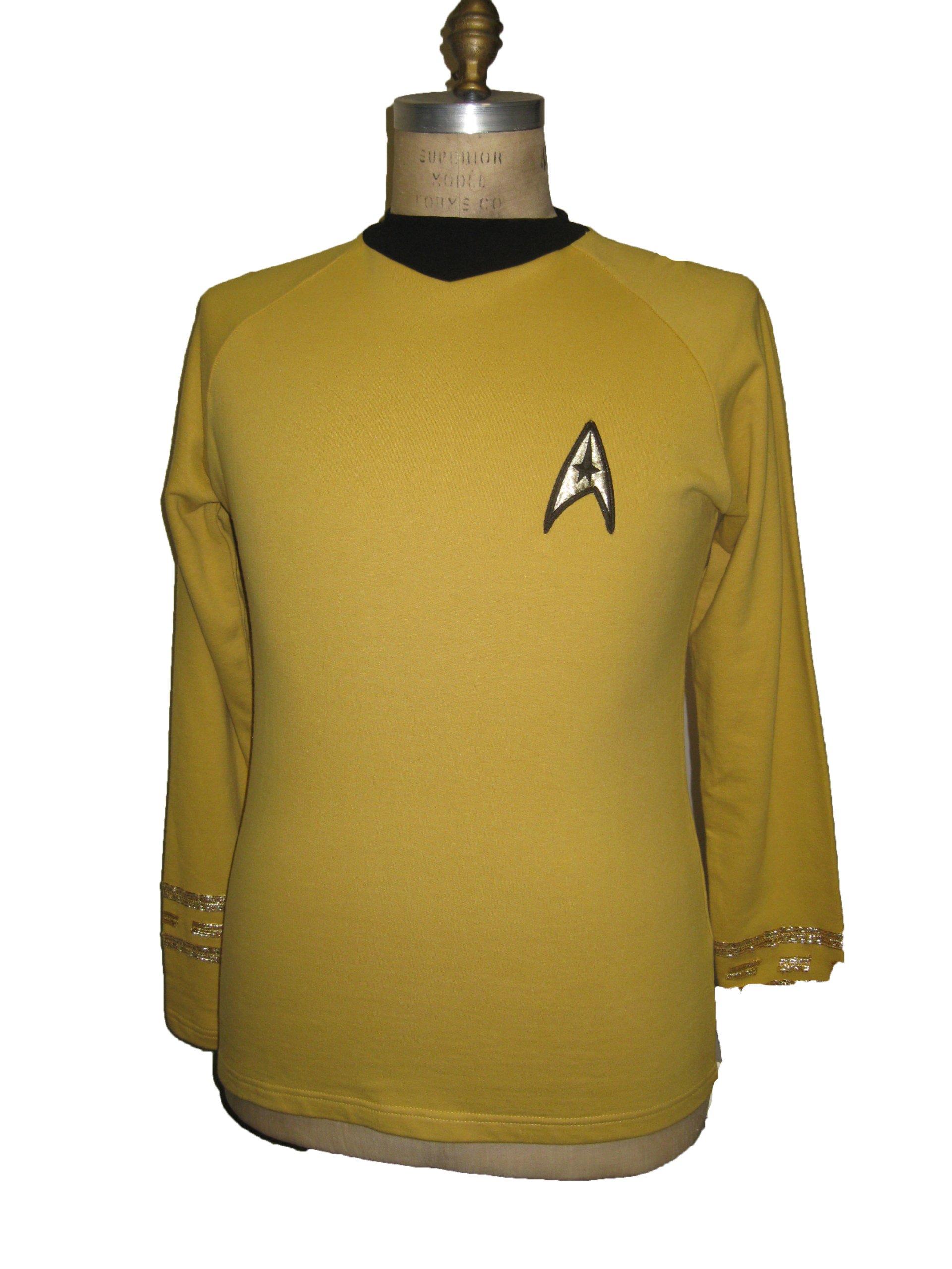 Star Trek Original Series - Uniform Shirt - Captain - Super Deluxe - Small By Filmwelt Berlin