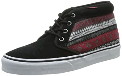 7eea9bc803 Image Unavailable. Image not available for. Color  Vans Chukka 79 (nordic)  Black Biking Red ...