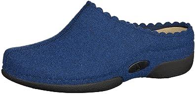 Berkemann Damen Lunia Pantoffeln, Blau (Royalblau), 42 2/3 EU