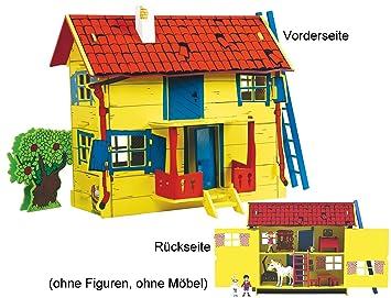 Glow2B Pippi Langstrumpf 44.3688.00   Pippi Villa Kunterbunt,  Holz Puppenhaus