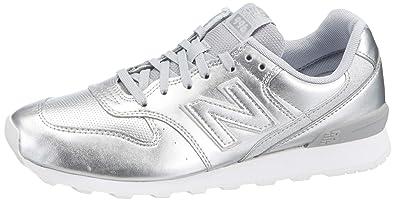 buy popular 3e66d 9fa25 New Balance Kadın 996 Moda Ayakkabı, Gümüş, 36.5
