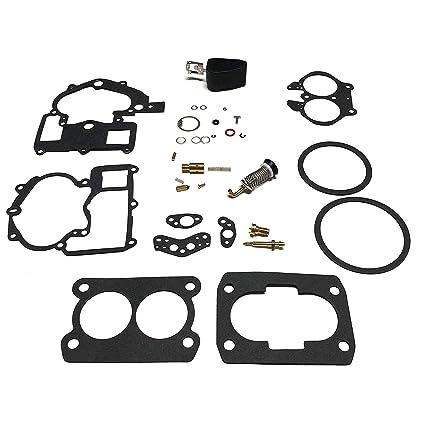 Amazon Com Mercruiser Carburetor Repair Rebuild Kit 3 0l 4 3l 5 0l