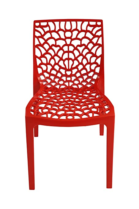 Supreme Set of 6 Chairs (Red)  sc 1 st  Amazon.in & Supreme Set of 6 Chairs (Red): Amazon.in: Home u0026 Kitchen