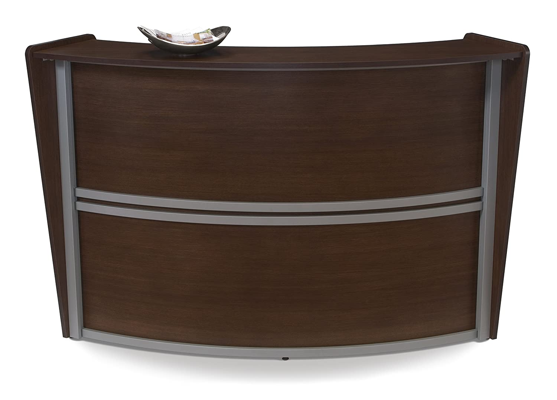 desks exemplary design custom funky office furniture shaped rustic most industrial desk reception l