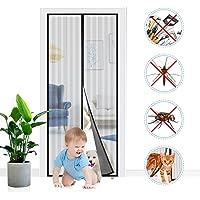 Adoric Magnetisch vliegengaas, vliegengordijn, muggennet, magneetgordijn, 80 x 200 cm, eenvoudige montage zonder boren…