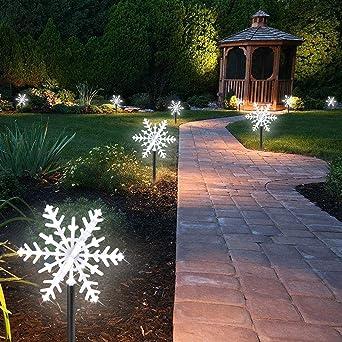 Eclairage Neige Décoration Flacon Paysage Intérieurexterieur 42 Pour Décorative Étanche Lumières Jardin Led Lampe À Piquet De l3cKT1JF