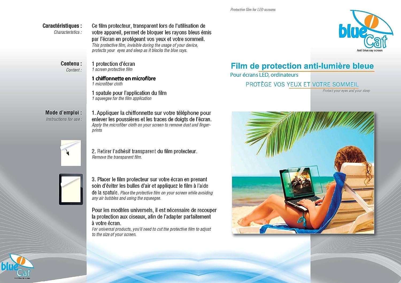 /Filtro antiluz azul 27 pouces Protecci/ón de pantalla de ordenador/