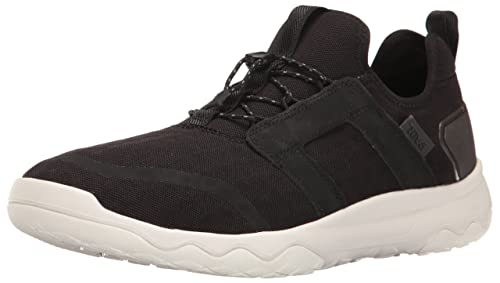 Mens Arrowood Swift Lace Sports and Outdoor Sneaker, Black/White, 7 UK (40.5 EU) Teva