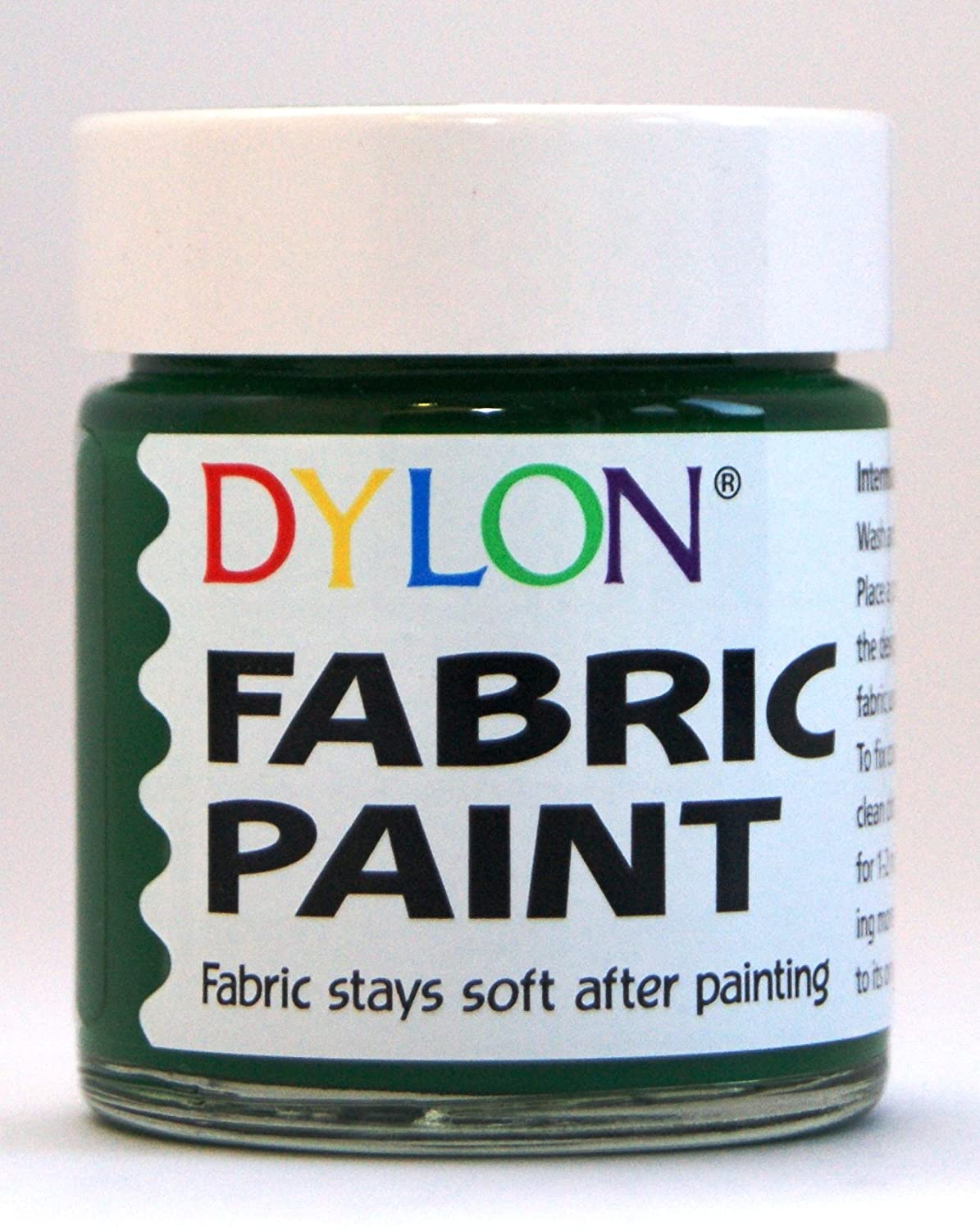 DYLON Fabric Paint Green 25ml Spotless Punch Limited