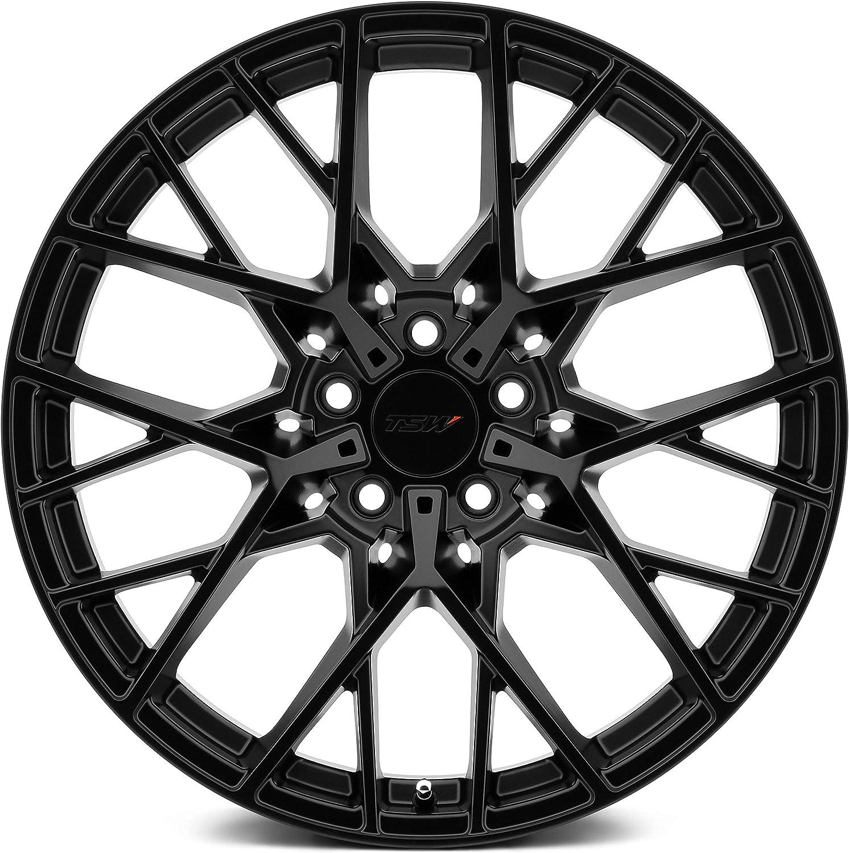 TSW Sebring 18x8.5 5x112 42mm Matte Black Wheel Rim