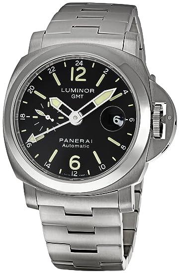 Panerai Luminor GMT pam00297 Gents Acero Correa de acero inoxidable para reloj