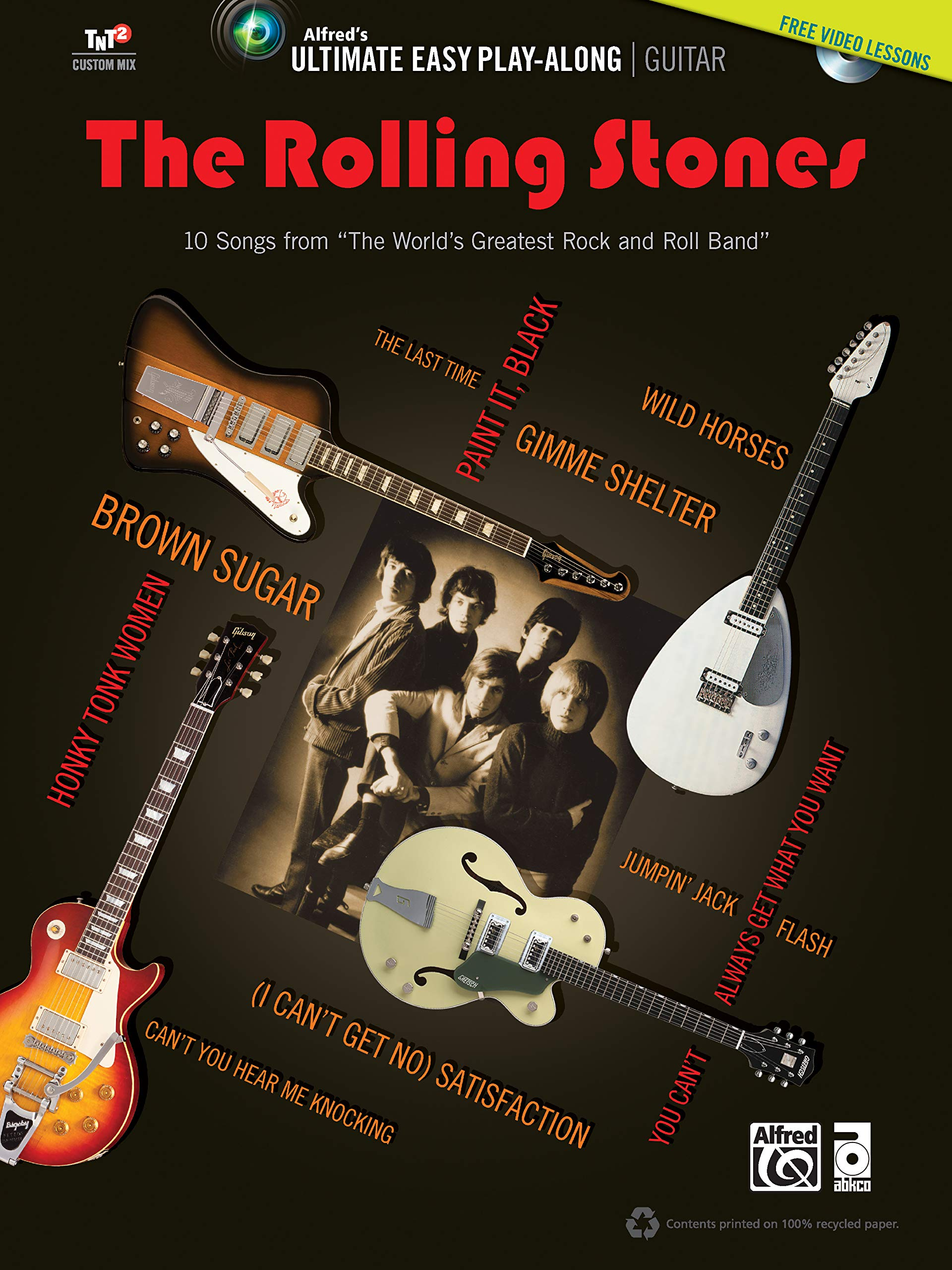 Ultimate Easy Guitar Play-Along: The Rolling Stones: 10 Songs from ...