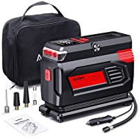 $39 » Audew Air Compressor Tire Inflator - 12V Heavy Duty Portable Wheel Air Pump for Car Tires…