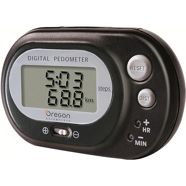 Contador de calorias podometro digital cuenta pasos calorímetro pedometer black