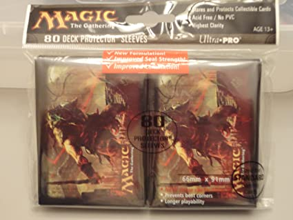 Ultra Pro 80 MTG Magic The Gathering Deck Protector Card Sleeves Free Shipping