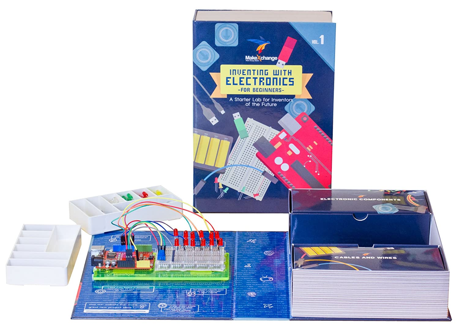 Electronics Kit That Teaches Coding Stem Toy Usb Circuit Development Made Easy Build Electronic Circuits Combines Making Without The Mess In Usa Toys Games