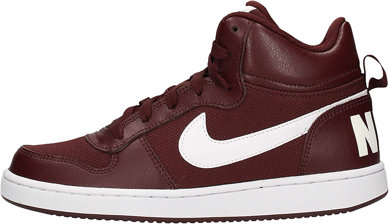 Nike Court Borough Mid PE GS Rojo 40 EU El Dorado//White 200 Zapatillas de Baloncesto para Hombre