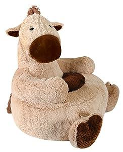 Stephan Baby Plush Nursery Decor Chair, Horse