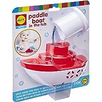 Amazon.com deals on Alex Bath Paddle Boat in The Tub Kids Bath Toy