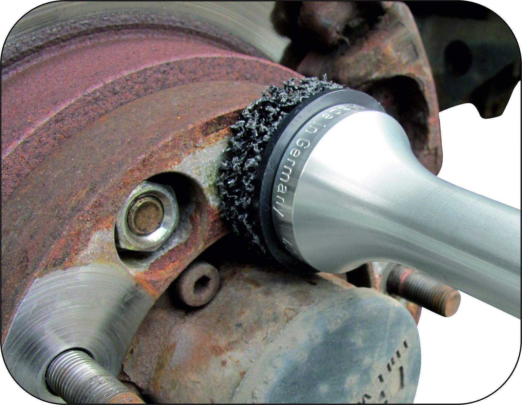 Mueller-Kueps 433 618 Aluminum Type 2 Wheel Hub Grinder by Mueller-Kueps (Image #3)