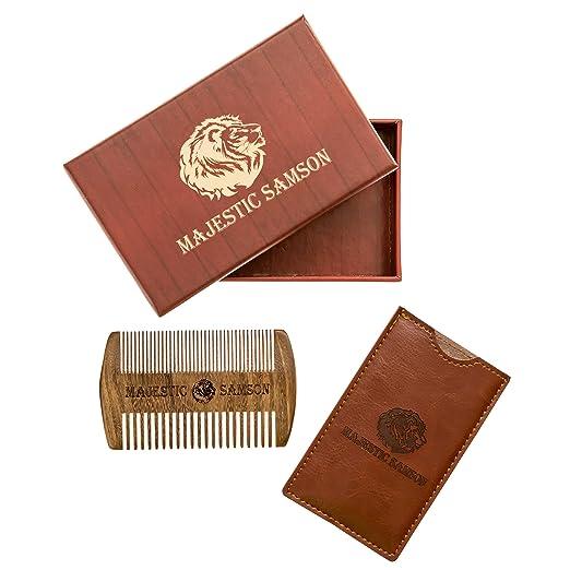 majestic samson beard comb for men