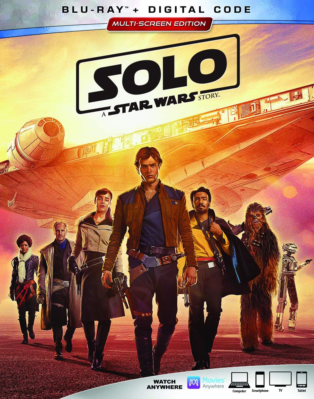 Solo: A Star Wars Story 2 Blu-Ray Edizione: Stati Uniti ...