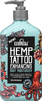 Malibu Tan Hemp Tattoo Enhancing Body Moisturizer