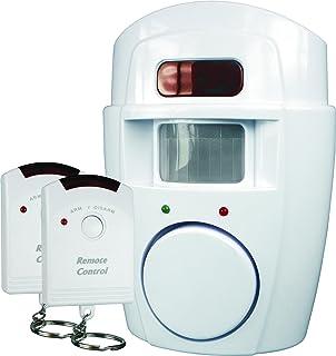 ELRO SC09 Sensor de Movimiento con Alarma Smartwares SC09-105 dB-Dos Controles remotos
