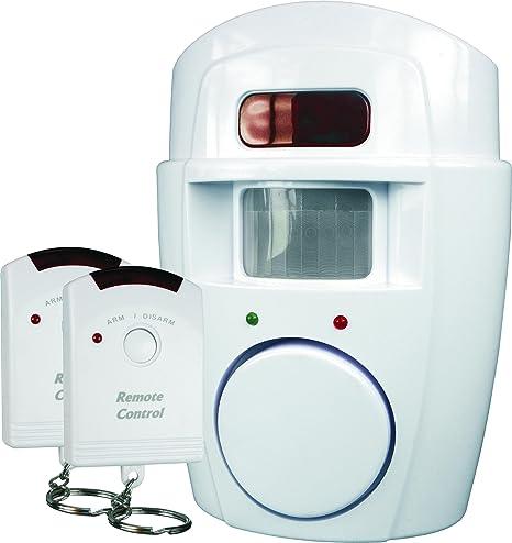 ELRO SC09 Sensor de Movimiento con Alarma Smartwares SC09-105 dB-Dos Controles remotos, Set de 3 Piezas: Amazon.es: Bricolaje y herramientas