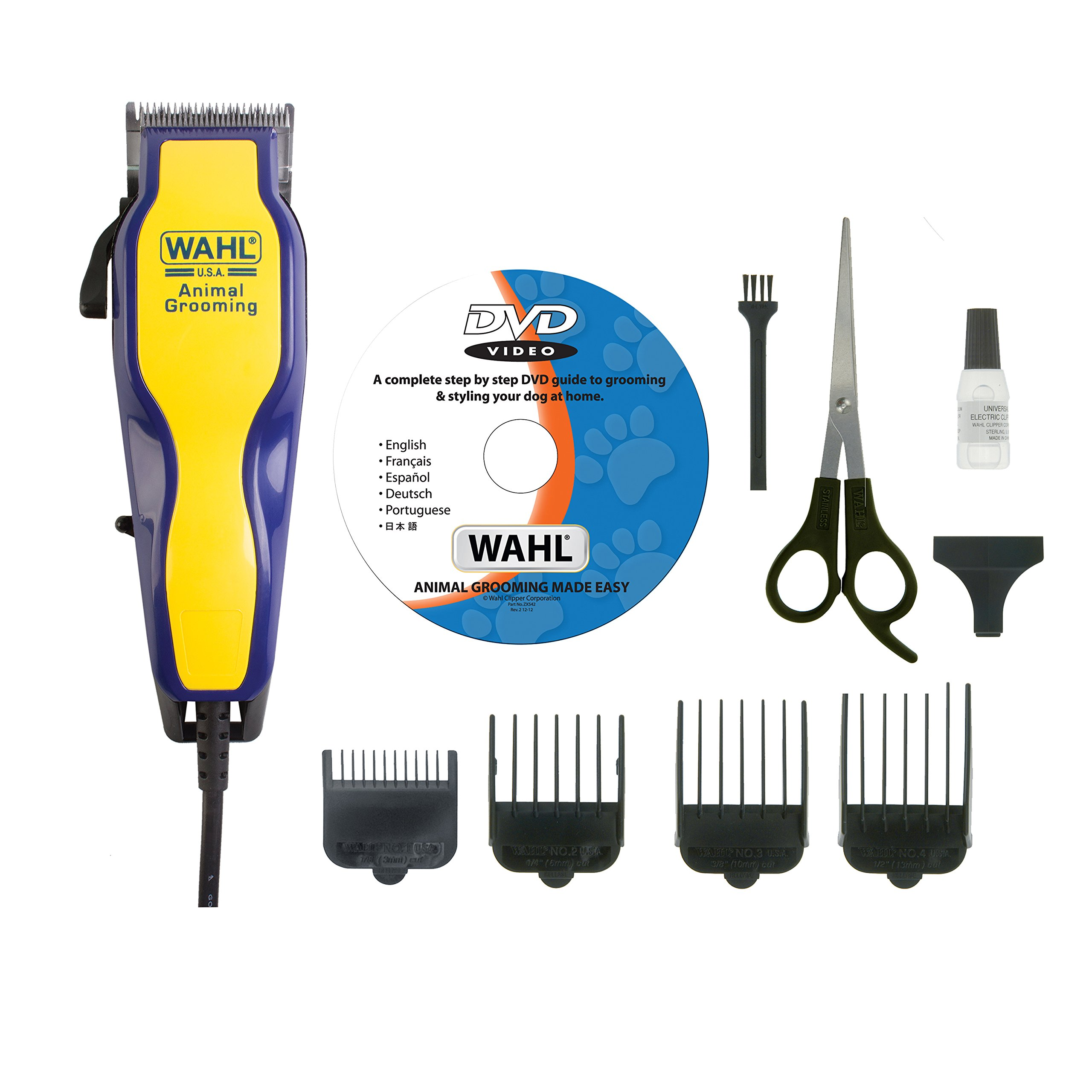 Wahl- 9269-804 Dvd Pet Dog Cat Animal Mains Clipper New
