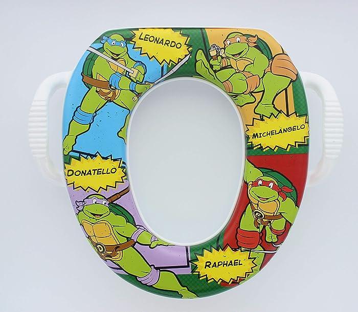Top 9 Teenage Mutant Ninja Turtles Soft Potty Seat