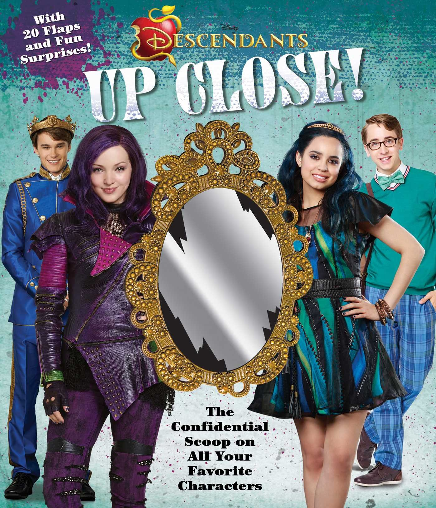 Disney Descendants: Up Close! ebook