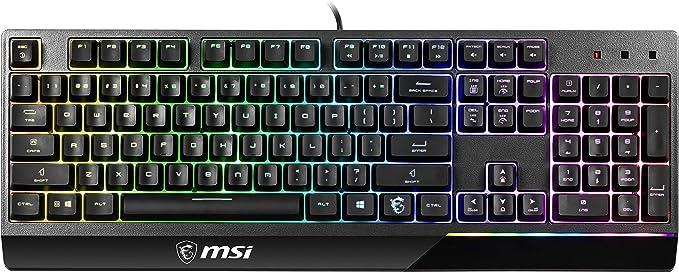 MSI Vigor GK30 RGB MEMchanical Gaming Teclado Reino Unido ...